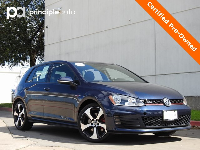 Certified Pre-Owned 2017 Volkswagen Golf GTI S