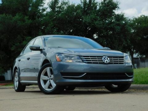 Pre-Owned 2013 Volkswagen Passat TDI SE w/Sunroof Sedan in Irving