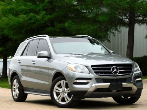 Pre-Owned 2012 Mercedes-Benz M-Class ML350